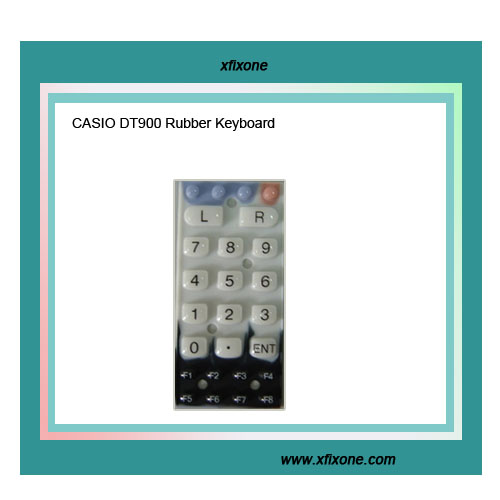 CASIO DT900 Series Rubber Keyboard