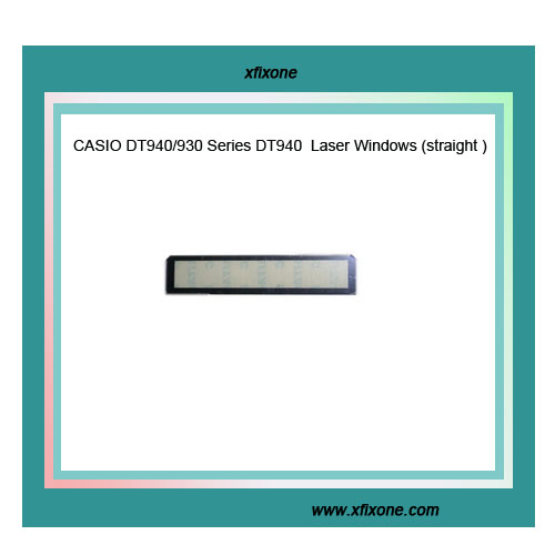 CASIO DT940/930 Series DT940  Laser Windows (straight )