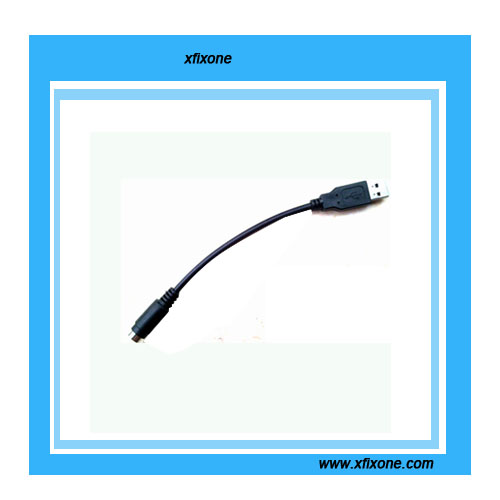 USB to PS2 Keyboard Cable (2.6ft)Black