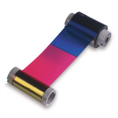 datacard 535000-007 ymckt-k color ribbon